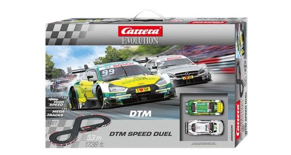 Carrera Evolution Autorennbahn DTM Speed Duel 25234