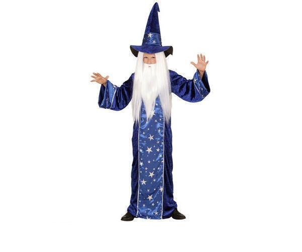 Kostüm Zauberer Gr. 128
