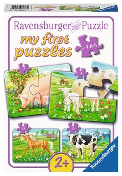 Ravensburger Puzzle Unsere Lieblingstiere