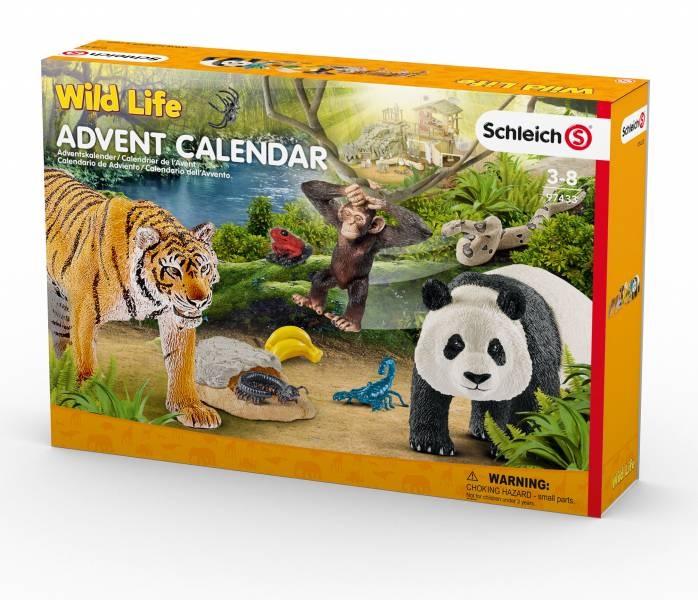 Adventskalender Schleich Wild Life 2017