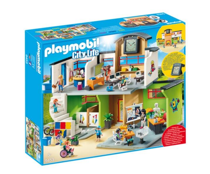 Playmobil 9453 City Life Große Schule mit Einrichtung