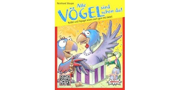 Alle Vögel sind schon da Kartenspiel von Amigo