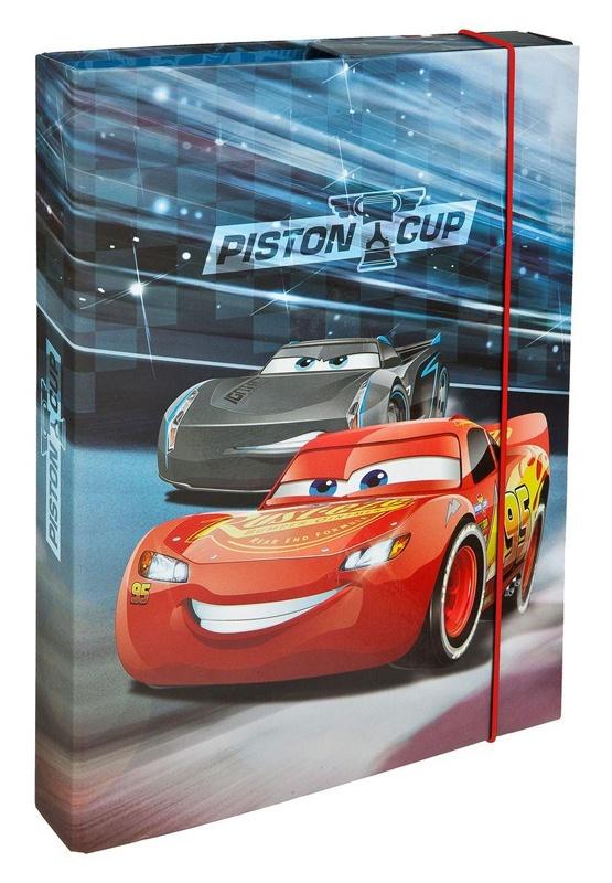 Cars Heftbox A4