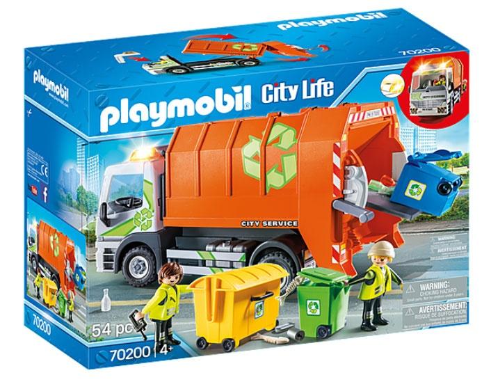 Playmobil 70200 City Life Müllfahrzeug