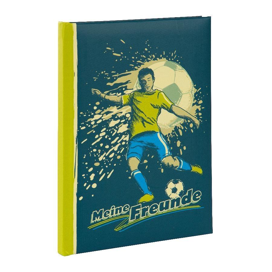 Goldbuch Freundebuch Kicker