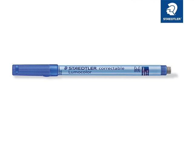 Folienstift Lumocolor correct M blau