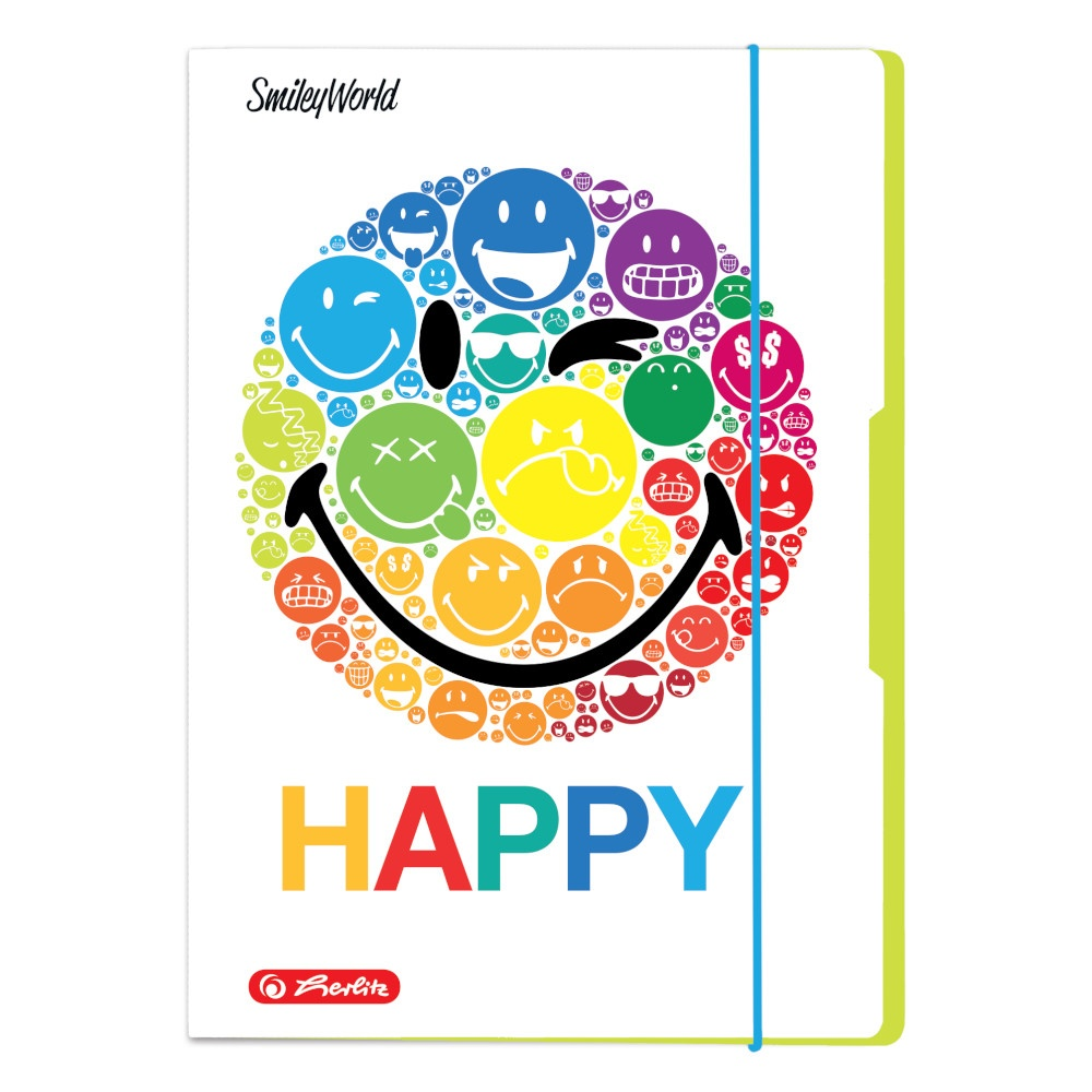 Sammelmappe A4 SmileyWorld Rainbow