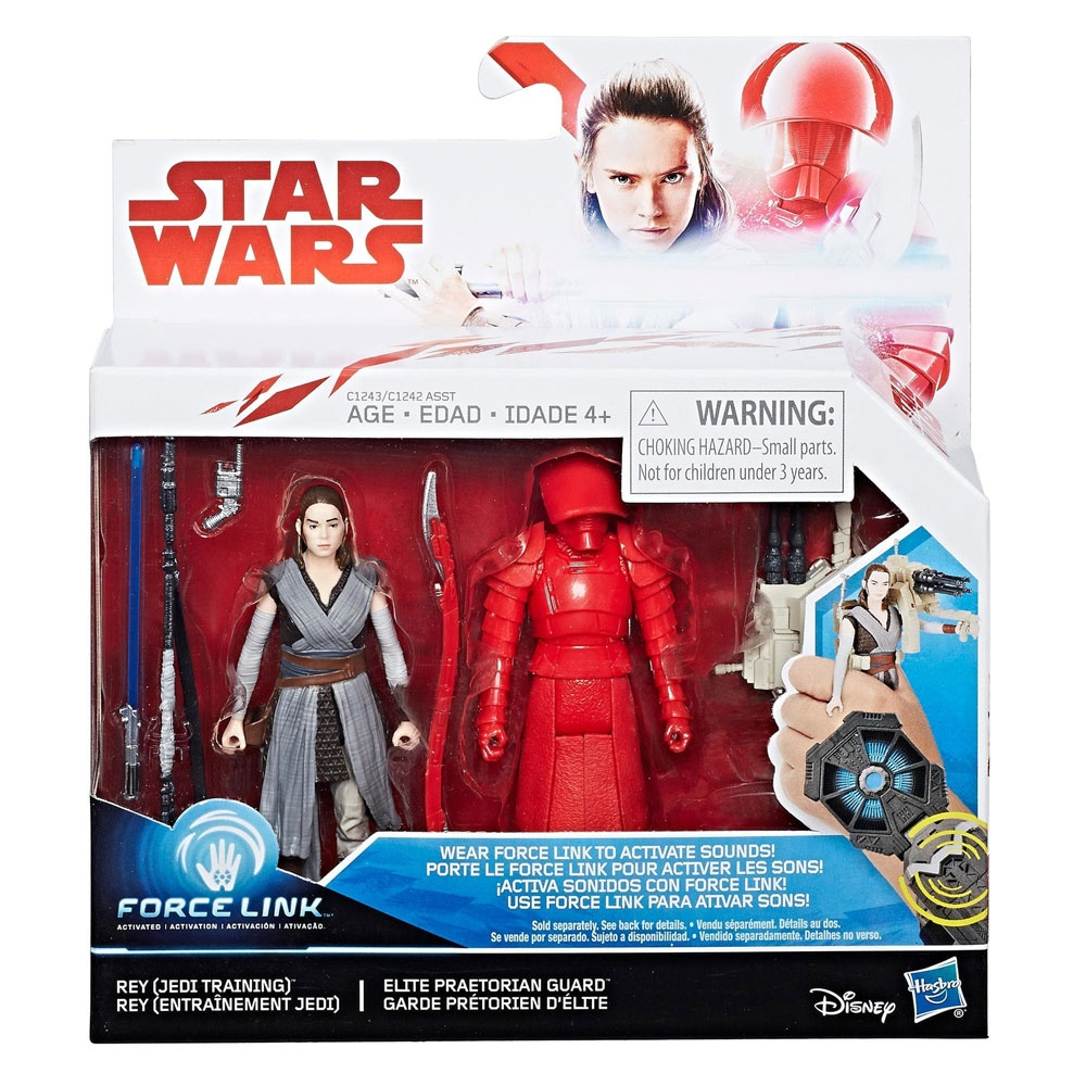 Star Wars Episode 8 Force Link Rey und Elite Prae Guard