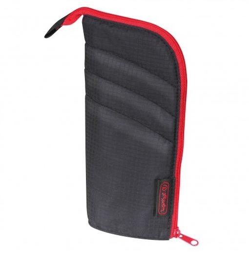 Herlitz Faulenzer my case schwarz/rot