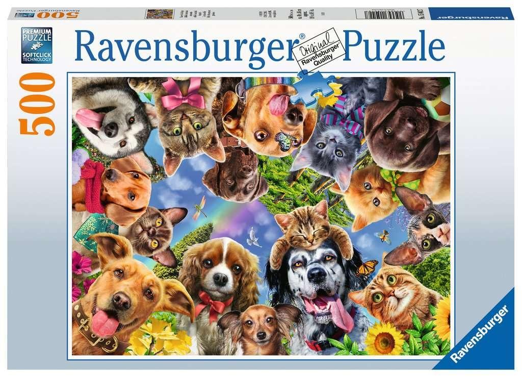 Ravensburger Puzzle Unsere Lieblinge 500 Teile
