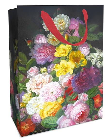 Geschenktasche Barock Flower 25 x 33 x 11cm