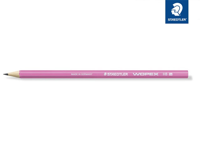 Bleistift WOPEX rosa HB
