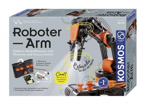 Experimentierkasten Roboter-Arm von Kosmos
