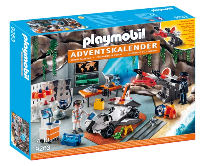 Adventskalender Playmobil Spy Team Werkstatt