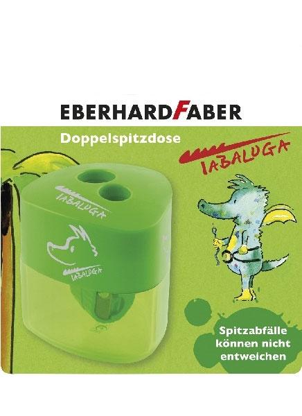 Tabaluga Doppelspitzdose grün