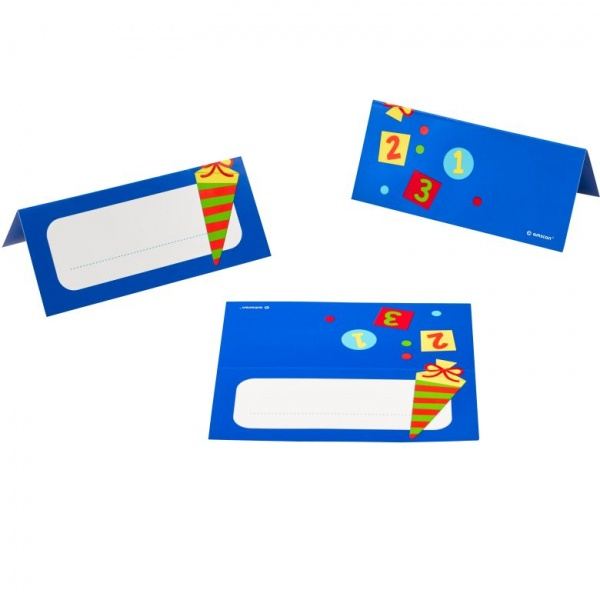 ABC Schulanfang Tischkarten