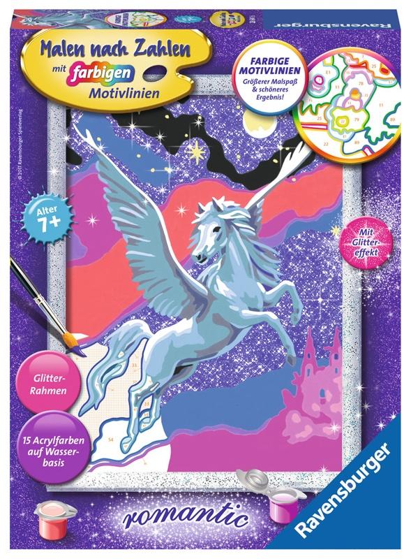 Ravensburger Malen nach Zahlen Stolzer Pegasus