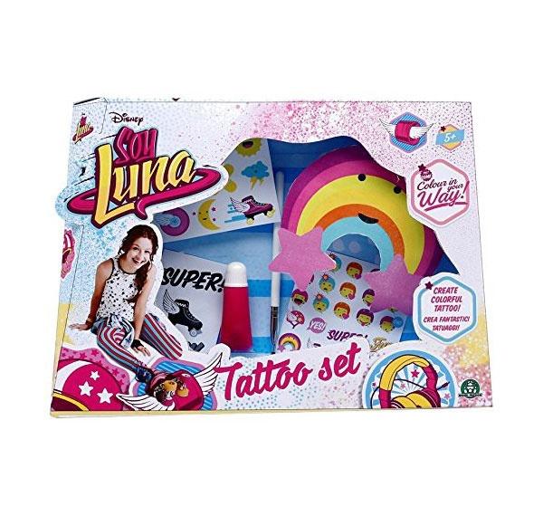 Soy Luna Tattoo Set