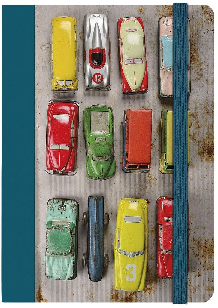 Notizbuch A5 Spielzeugautos