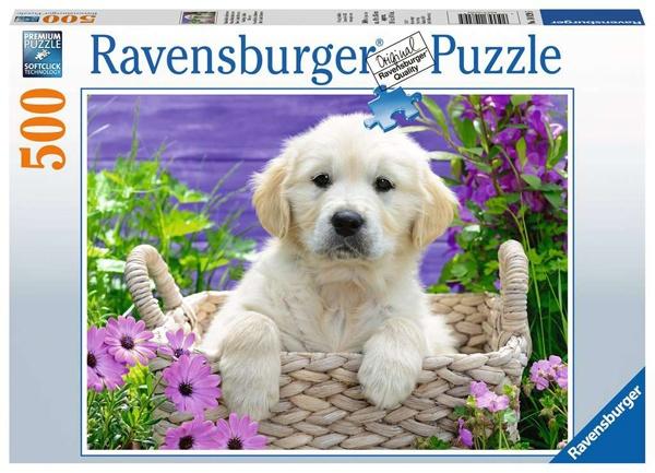 Ravensburger Puzzle Süßer Golden Retriever 500 Teile