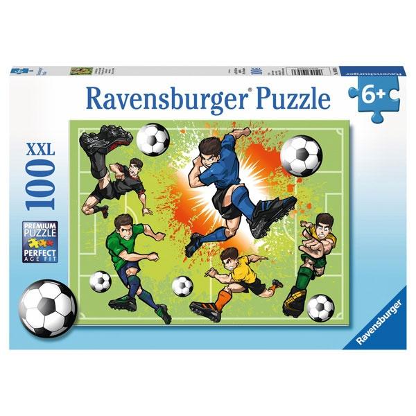 Ravensburger Puzzle Im Fußballfieber 100 Teile
