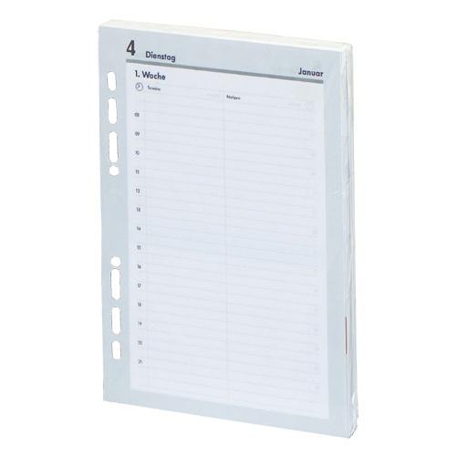 2020 Kalender Ersatzeinlage Manager A5 1 Tag/1 Seite