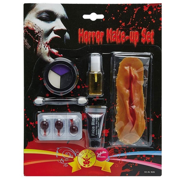Kostüm-Zubehör Horror Make up Set