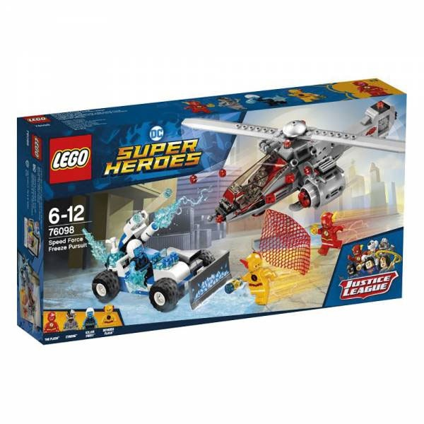 Lego Super Heroes 76098 Speed Force Freeze Verfolgungsjagd