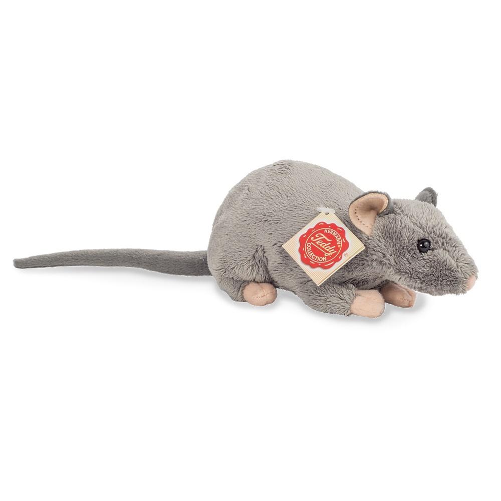 Teddy Hermann Plüschtier Ratte 18 cm