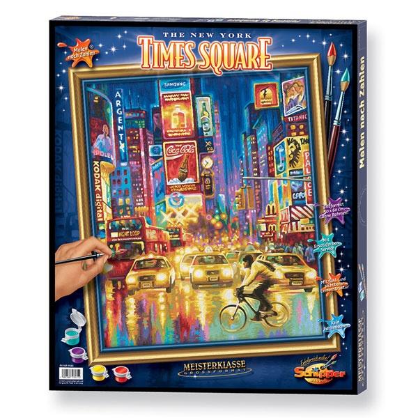 Schipper Malen nach Zahlen The New York Times Square