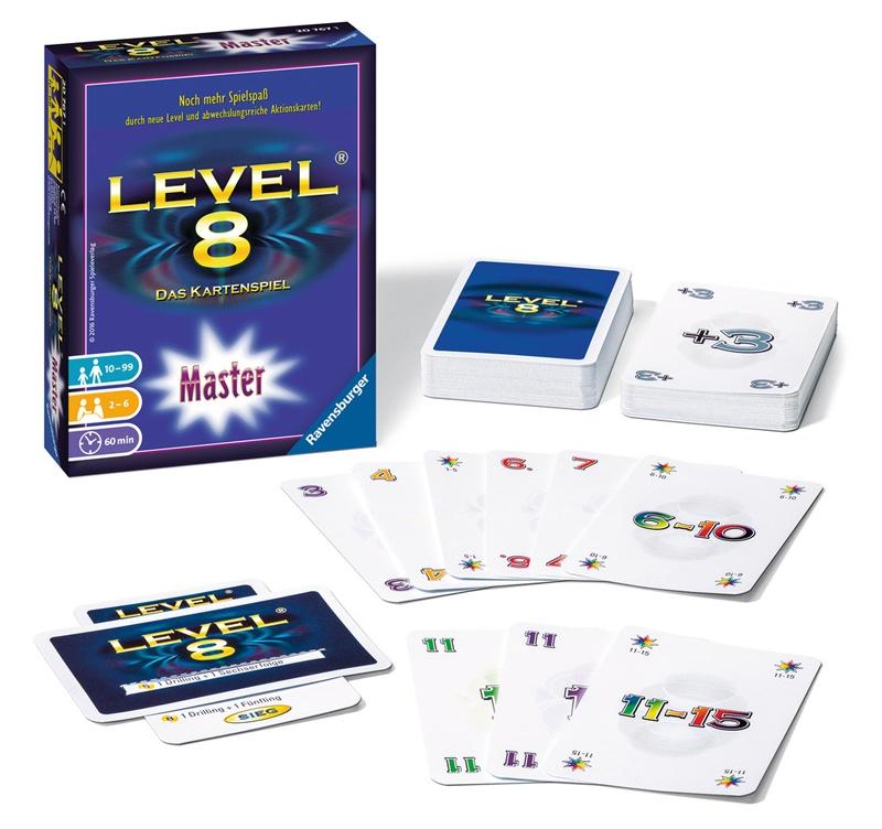 Ravensburger Kartenspiel Level 8 Master