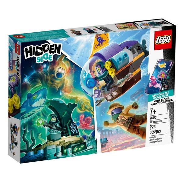 Lego Hidden Side 70433 J.B. s U-Boot