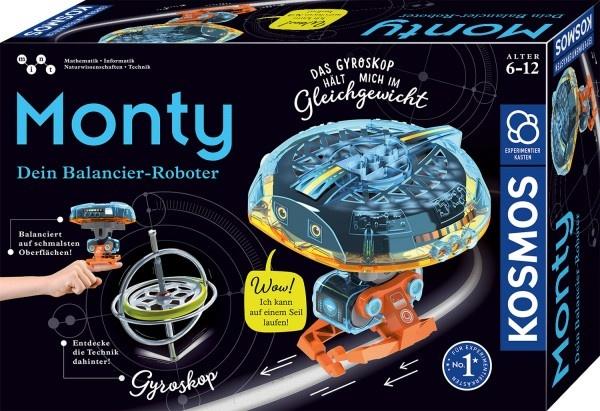 Experimentierkasten Monty - Dein Balancier-Roboter von Kosmo