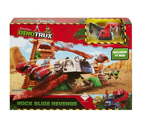 Dino Trux Felsenblock Attacke Set