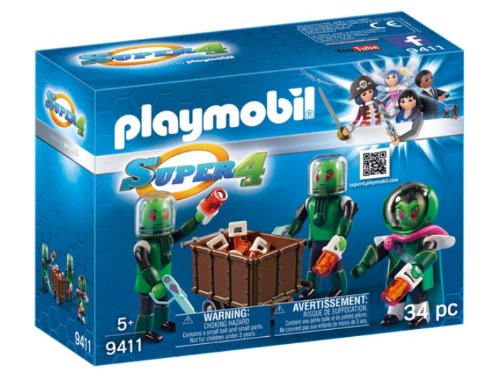 Playmobil 9411 Super4 Sykronier
