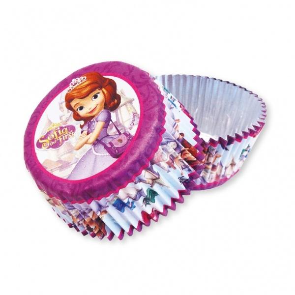 Disney Sofia die Erste 24 Muffinförmchen
