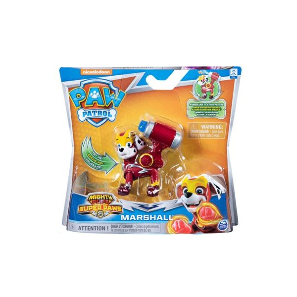 Paw Patrol Mighty Pups Marshall Action Pack