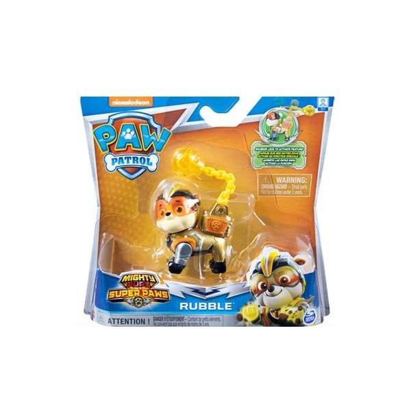 Paw Patrol Mighty Pups Rubble Action Pack