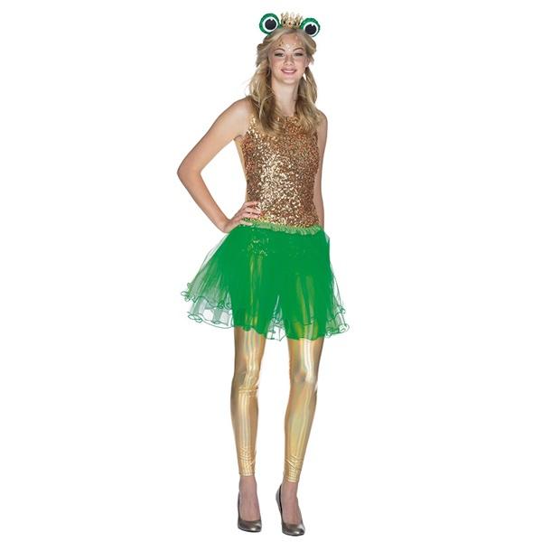 Kostüm-Zubehör Tüllrock grün