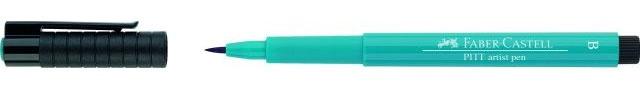 Faber Castell Pitt artist Pen Cobalt Turquoise B