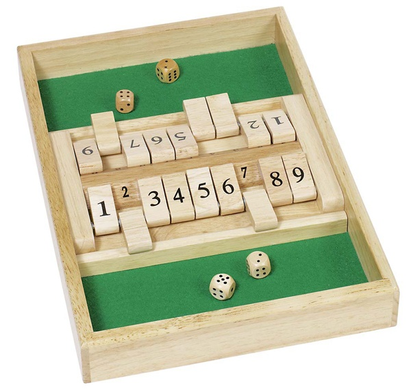Doppelspiel Shut the box