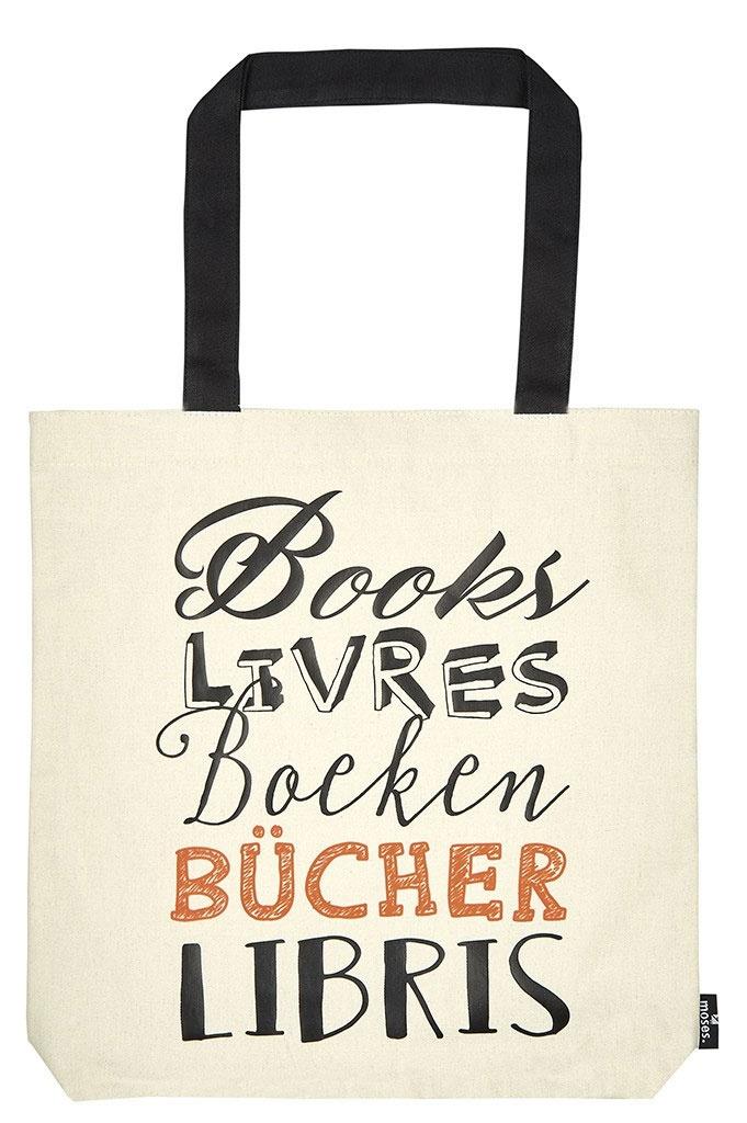 Shopper Tasche - Books,Livers.....