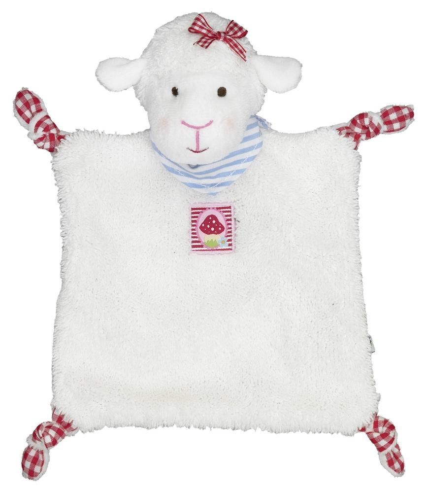 Spiegelburg Baby Glück Schnuffeltuch Lämmchen