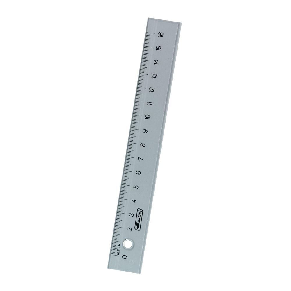 Lineal 16cm Plastik