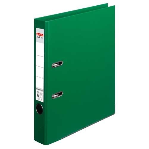 Ordner A4 max.file protect grün 5 cm von Herlitz
