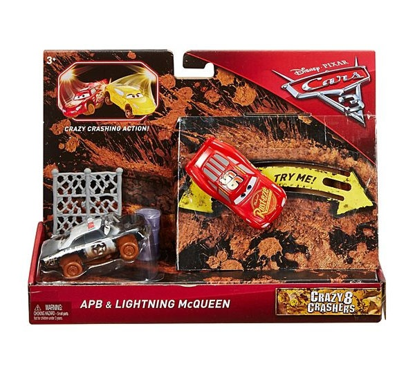 Cars3 Crazy 8 Crashers APB und LIGHTNING McQueen