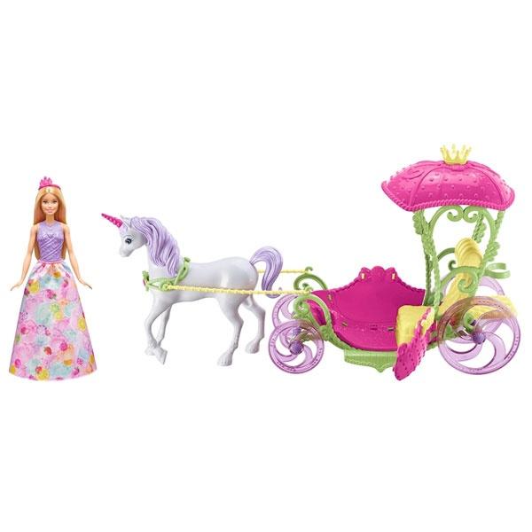 Barbie Bonbon Prinzessin, Einhorn & Kutsche