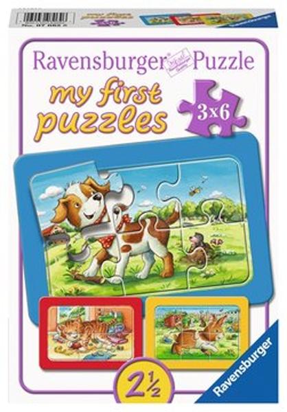 Ravensburger Puzzle Meine Tierfreunde