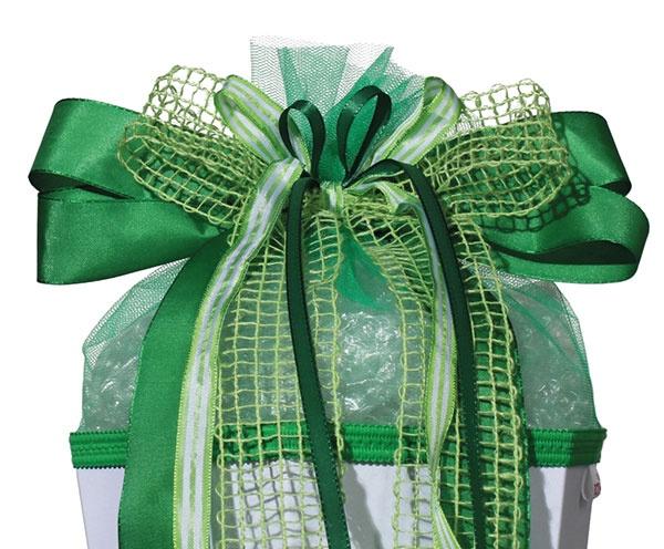 Roth Schultütenschleife Fresh Green
