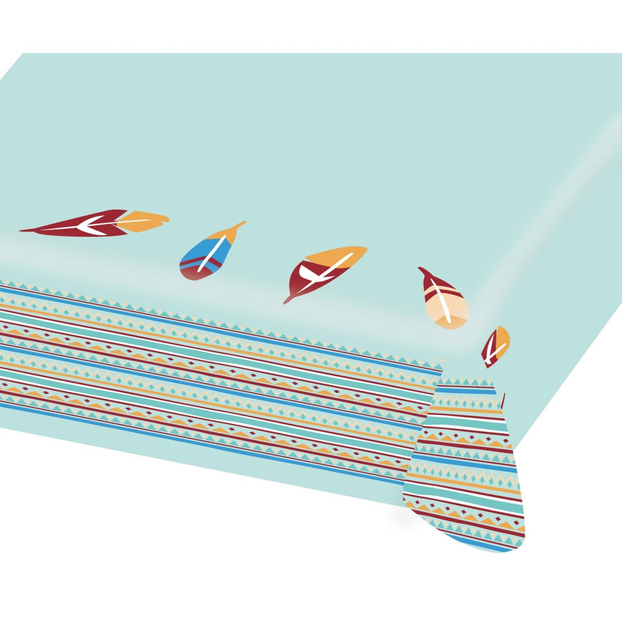 Party-Tischdecke Papier Tepee & Tomahawk 115 x 175 cm